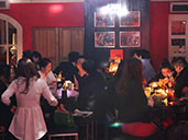 Patrons enjoying themselves at the indoor area, Club Viva in Futian.