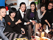 A group of ladies enjoying themselves at Club Viva in Futian.