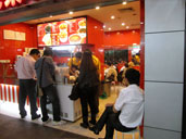 Customers ordering at The Happy Fish Ball