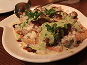 Papri Chaat dish at Spice Circle Indian Restaurant in Luohu.