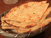 Indian Roti at Spice Circle Indian Restaurant in Luohu.